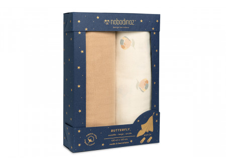 Box 2 Butterfly swaddles • blossom