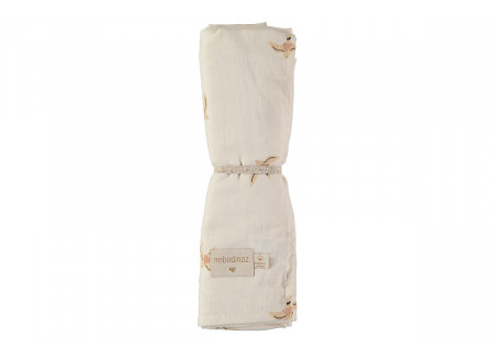 Butterfly swaddle nude haiku birds natural