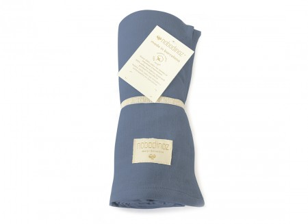 Butterfly swaddle night blue