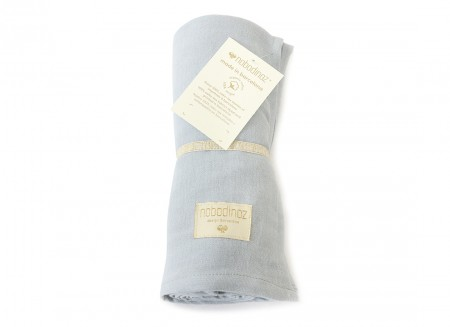 Butterfly swaddle riviera blue