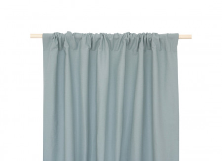 Calista curtain 140x280 riviera blue