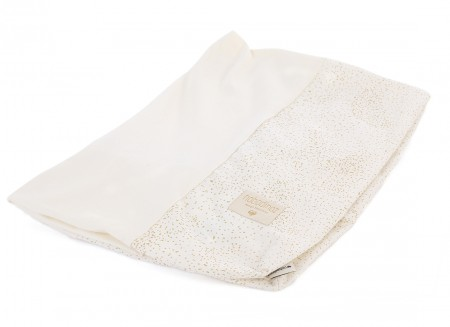Calma changing cover • gold bubble white