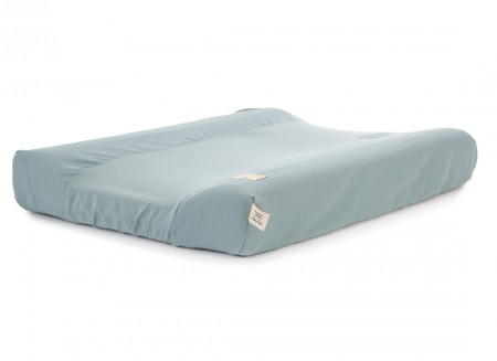 Calma waterproof changing mat & cover honeycomb 70x50 magic green