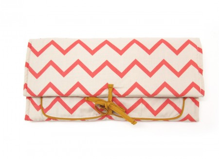 Berlin changing pad 57x33 zigzag pink
