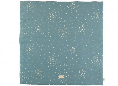Colorado play carpet gold confetti/ magic green