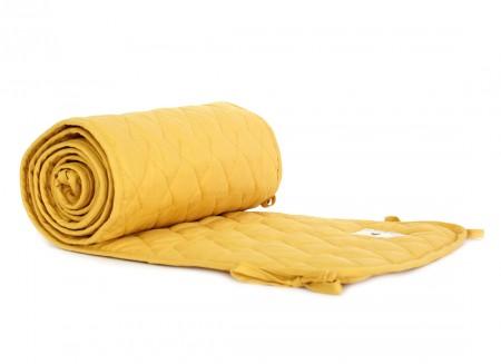 Alexandria cot bumper • farniente yellow
