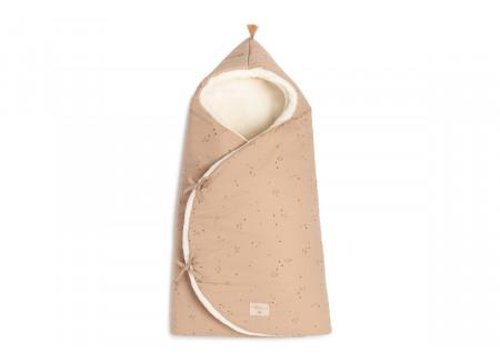 Cozy 0-3M winter baby nest bag • willow dune