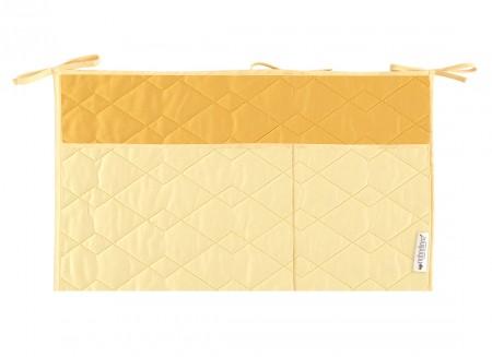 Sevilla crib organizer 26x48 sunny yellow