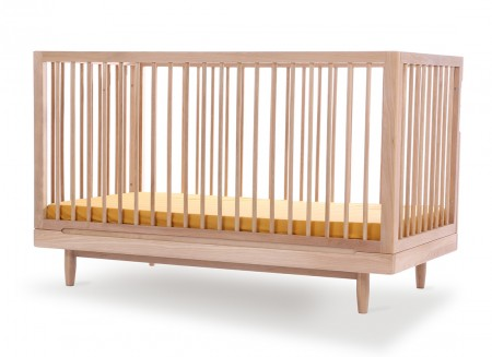 Oak wood evolving crib • Pure