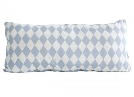 Averell cushion 52x24 blue diamonds