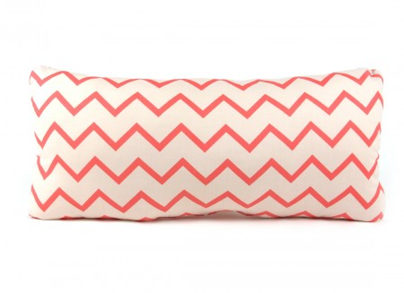 Averell cushion 52x24 zig zag pink