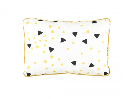 Jack cushion 34x23 black honey sparks