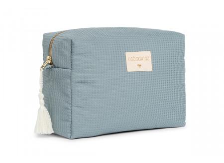Diva waterproof vanity case • stone blue