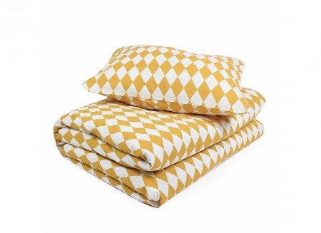Toronto duvet honey diamonds - 2 sizes