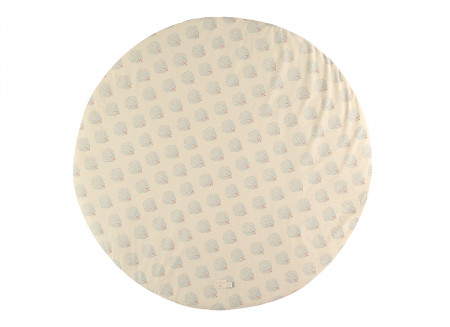 Full Moon play carpet • blue gatsby cream