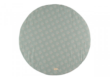 Full Moon play carpet white gatsby antique green