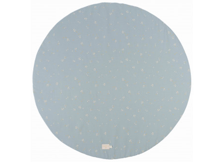 Full Moon play carpet • willow soft blue