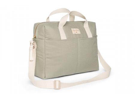Gala waterproof changing bag • laurel green