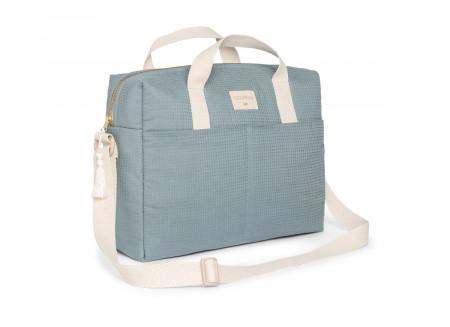 Gala waterproof changing bag • stone blue
