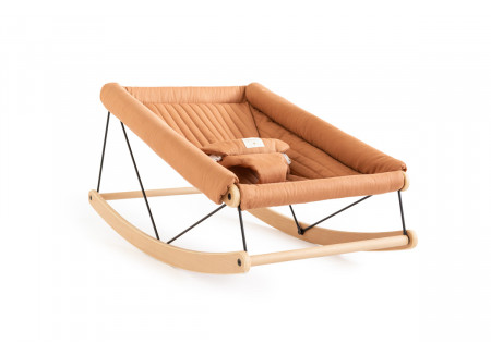 Growing Green baby bouncer • sienna brown