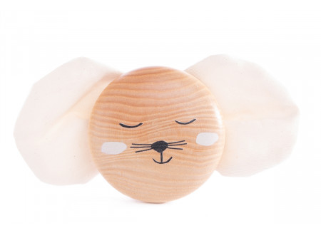 Mouse wooden wall hanger