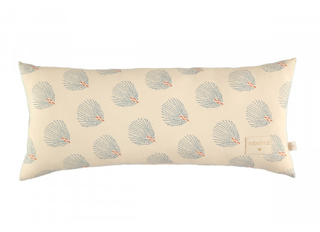 Hardy cushion • blue gatsby cream