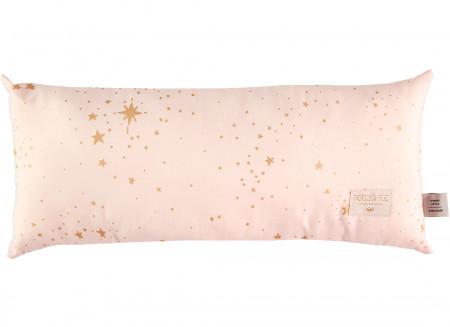 Hardy cushion • gold stella dream pink