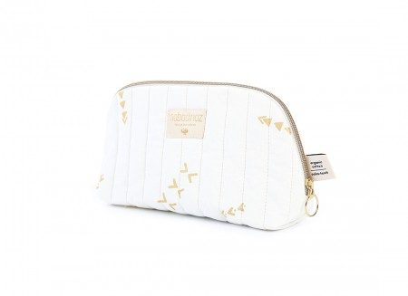 Holiday vanity case gold secrets/ white - 2 sizes