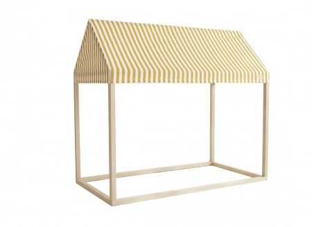 Ibiza home - 126x66x113 honey stripes