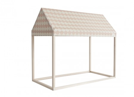 Ibiza home - 126x66x113 pink scales