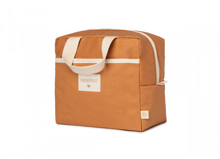 Sunshine insulated lunch bag cinnamon