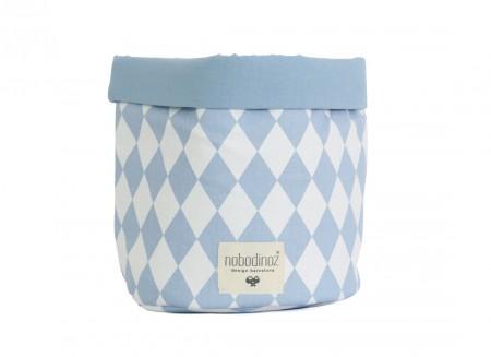 Mambo basket blue diamonds - 3 sizes