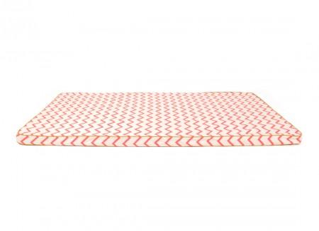 Saint Tropez floor mattress 120X60X4 zig zag pink