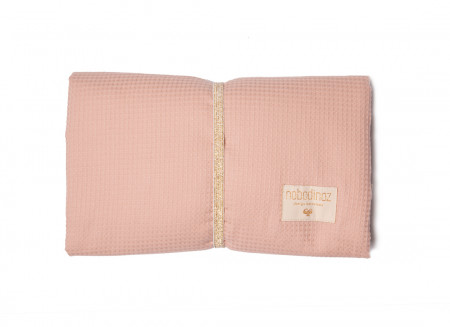Mozart changing pad misty pink