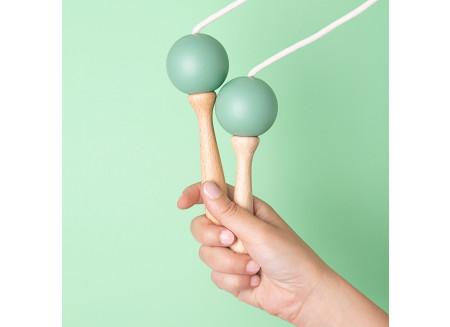 Skipping rope 210cm green