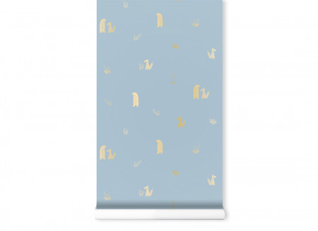 Wallpaper Jon&June 130gsm 52x1005cm blue