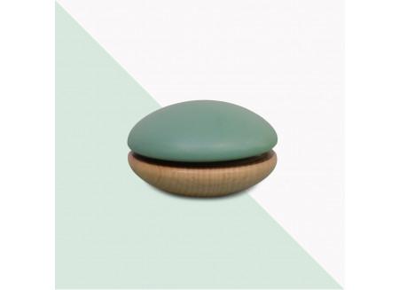 Wooden Yoyo 6x6x4cm green