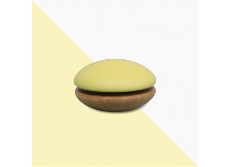 Wooden Yoyo 6x6x4cm yellow