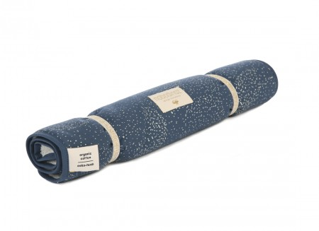 Nomad changing pad 60x35 gold bubble/ night blue