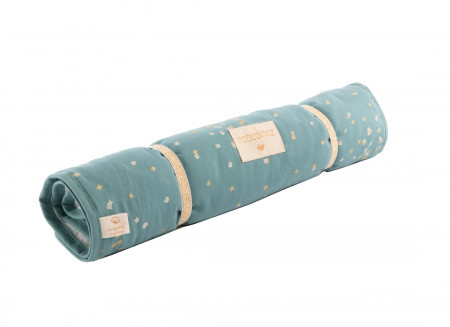Changing pad Nomad gold confetti/ magic green
