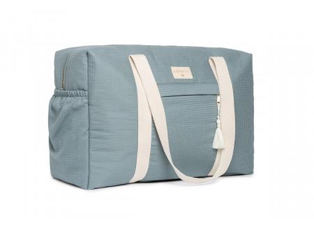 Opera waterproof maternity bag • stone blue