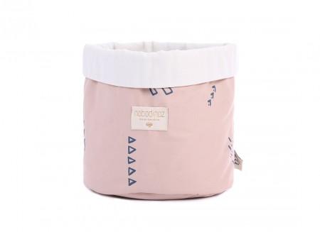 Panda basket blue secrets/ misty pink - 3 sizes