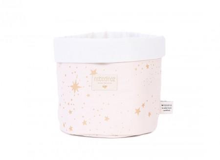 Panda basket gold stella/ dream pink - 3 sizes
