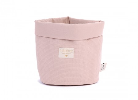 Panda basket honeycomb misty pink - 3 sizes