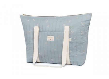 Paris changing bag • willow soft blue