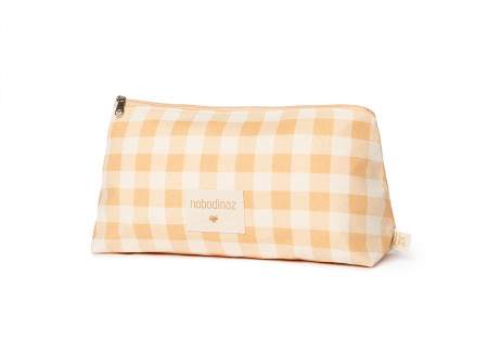 Sunshine pencil case • melon vichy