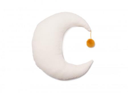 Pierrot moon cushion 36x32 natural
