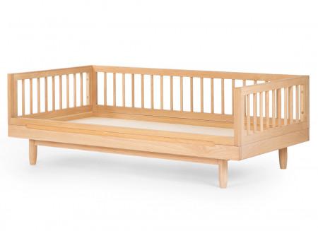 Oak wood junior bed • Pure