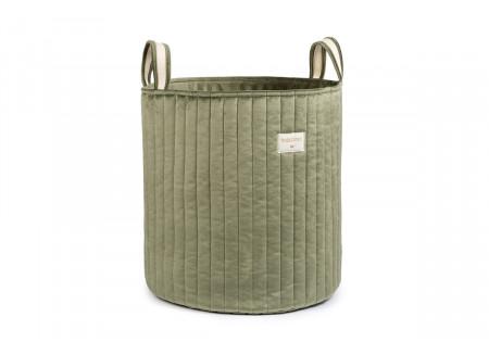Savanna toy bag • velvet olive green