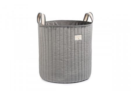 Savanna toy bag • velvet slate grey